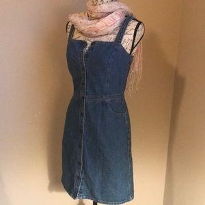 Ann Taylor Blue jean romper dress, must have!